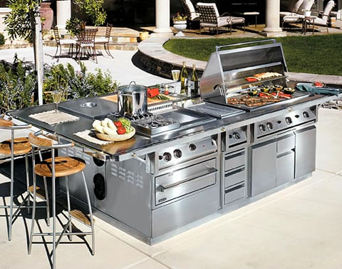 Galaxy Outdoor - Las Vegas, Nevada Custom Outdoor Kitchen